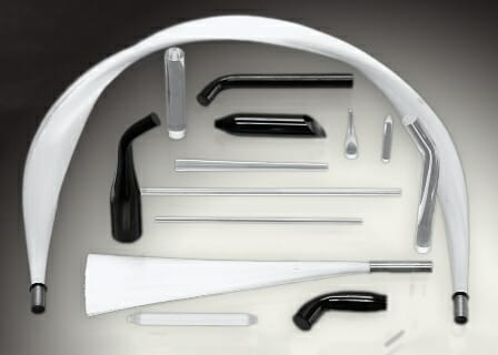 FTI has extensive machining and bending equipment to manufacture a wide variety of optical rod and specialty tapers ideal for dental and industrial curing applications.